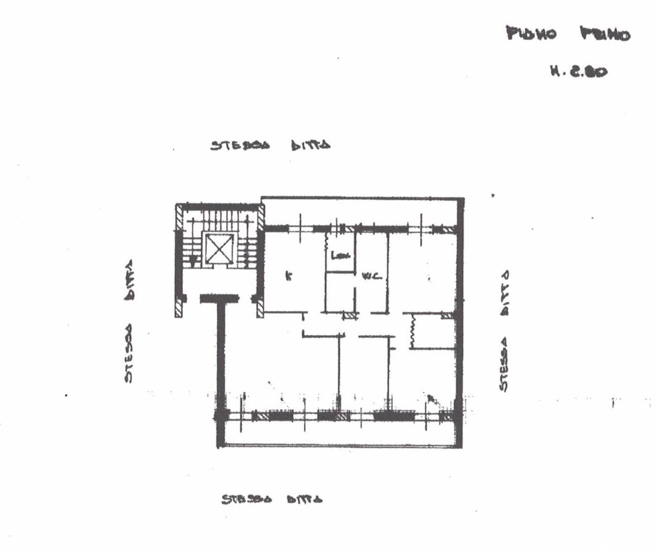 Planimetria Casa Vecchio